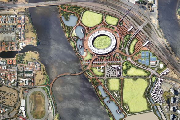 Perth Stadium - plan
