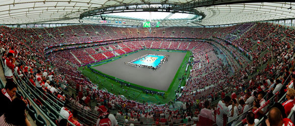 Volleyball at Stadion Narodowy