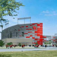 New design: Houston Football Stadium