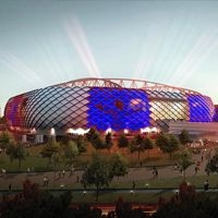Moscow: Spartak stadium colour affair