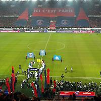 France: Marseille mocks atmosphere at Parc des Princes