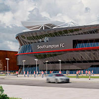 New design: St. Mary's Stadium