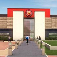 New design: Moston Community Stadium