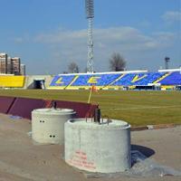 New construction: Stadion Georgi Asparuhov