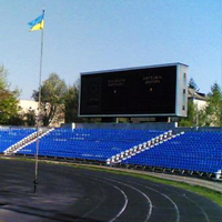 New stadiums: Chernivtsi and Dobromyl