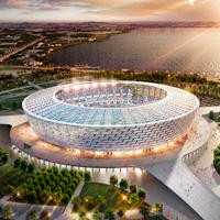 New construction: Baku Olympic Stadium