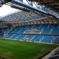 Poland: Concrete cracking inside Poznan stadium