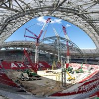 Kazan: Stage is here, but the stadium still not ready