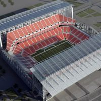 New designs: New Falcons Stadium according to 360 Architecture