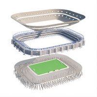 Innovation: Mobile stadium with varying identity