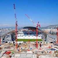 Marseille: Main grandstand construction launched