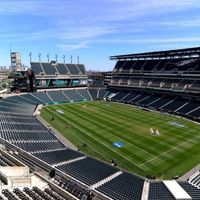 USA: Pitch-wide screens in Philadelphia