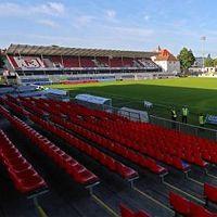 New stadiums: Regensburg, Hildesheim, Siegburg