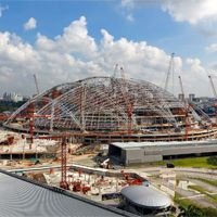 Singapore: Record dome closer