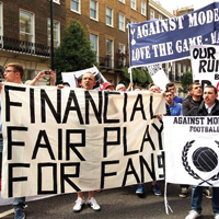 London: Supporters protest against ticket (over)pricing