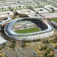 New design: Hazza Bin Zayed Stadium