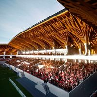 New design: Aranycsapat Stadion