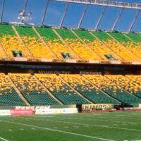 Canada: Edmonton's Commonwealth Stadium gets recoloured