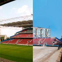 Belgium: Stade de Charleroi drastically downsized