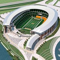 New design: Baylor Stadium