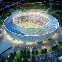 Baku: Olympic Stadium on schedule