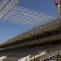 Brazil: First roof segment installed in Cuiaba