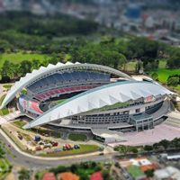 Costa Rica: New national stadium already falling apart?