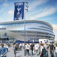 London: Tottenham to abandon their stadium design?