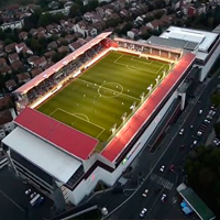 New stadiums: Belgrade, Gornji Milanovac and Guča