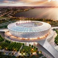 Baku: Olympic Stadium ahead of schedule