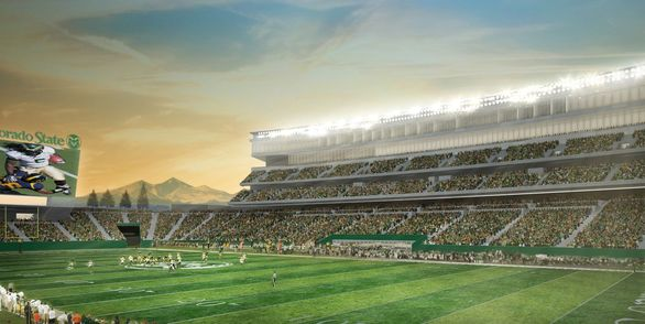 CSU Football Stadium