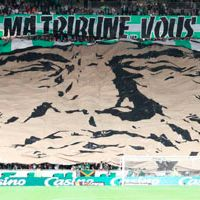 Saint-Etienne: New south stand opened with smoke signals