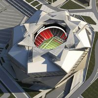 Atlanta: New renderings and budget of Falcons Stadium