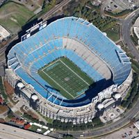 New stadiums: Green Bay, Charlotte, New Orleans and Detroit