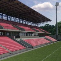 New design and construction: Stadion Borca