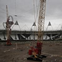 London: Olympic Stadium under construction again