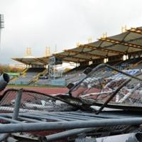 Sheffield: Don Valley Stadium demolition began