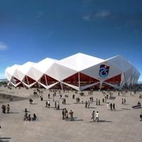 Turkey: Crowds attend Trabzonspor's stadium groundbreaking