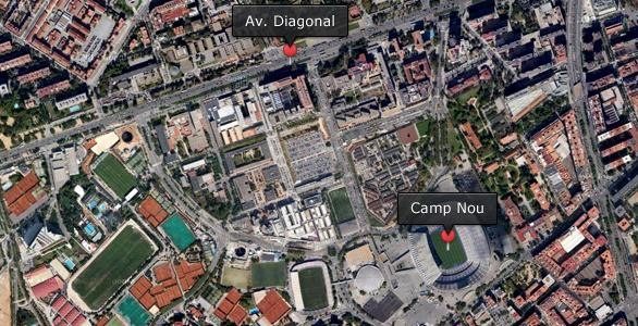 Diagonal or Camp Nou?