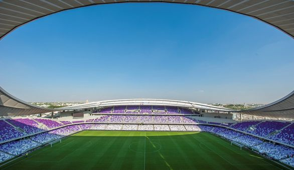 Hazza Bim Zayed Stadium