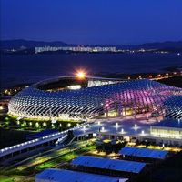 New stadium: The giant snake from Shenzhen
