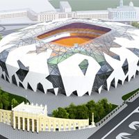 New designs: Volgograd and Ekaterinburg