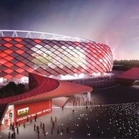 Moscow: Spartak's stadium more expensive, but on time