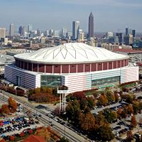 New stadiums: Atlanta, St. Louis, Minneapolis, Eugene