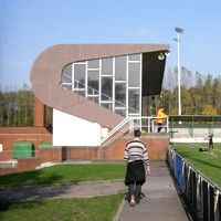 New stadiums: Geel and Boussu