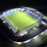 New design: Scunthorpe United Stadium