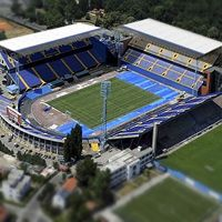 Zagreb: Only two covered stands at Maksimir