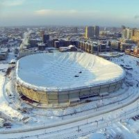 Minneapolis: Last roof deflation at Metrodome