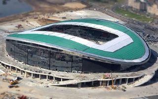New stadium: Kazan Arena