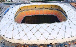 Manaus: Finishing touches at Arena da Amazonia